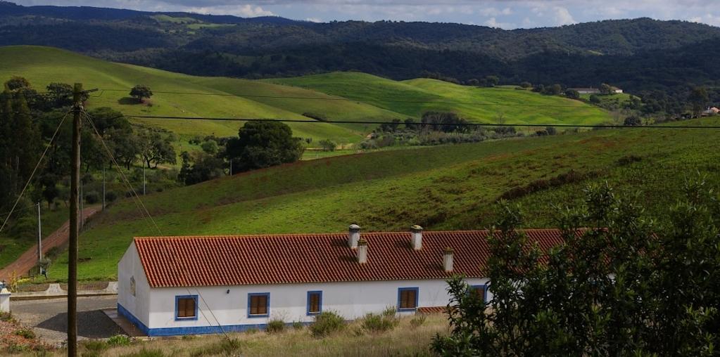 Terra rural com casa