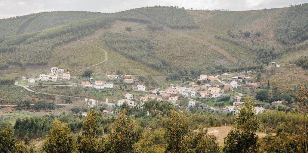 aldeia na floresta