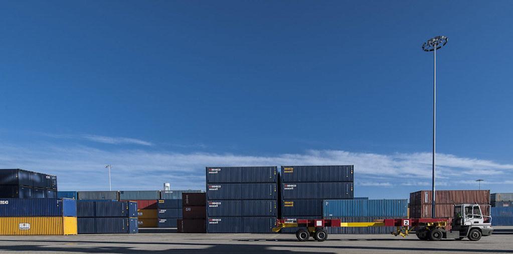 camiao de exportação